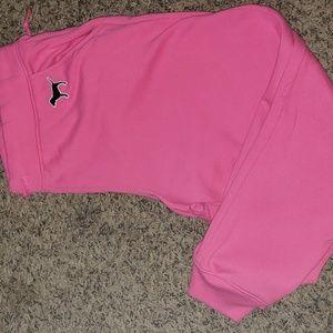 Pink vs joggers